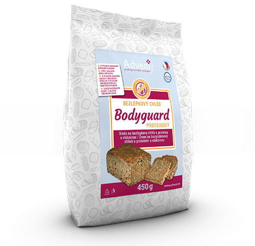 BODYGUARD protein bread with fibre